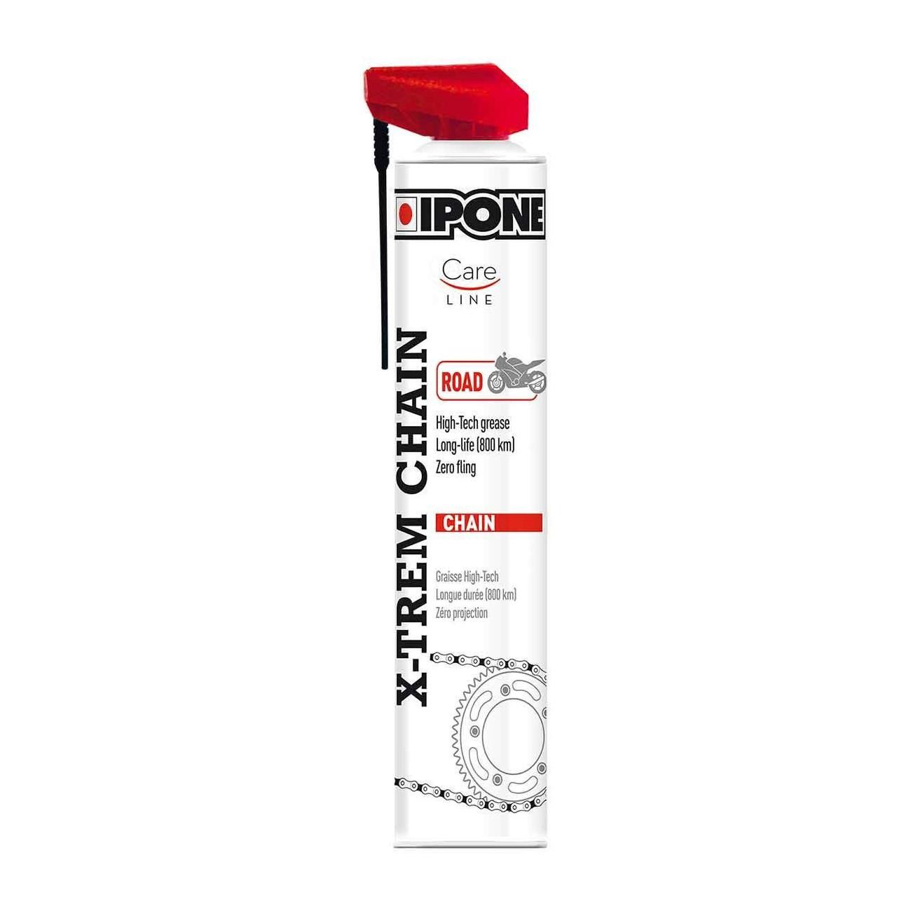 Lubricante Cadena Spray Ipone X-trem Road 750 ml