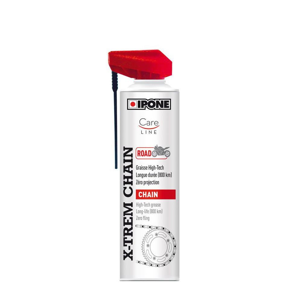 Lubricante Cadena Spray Ipone X-trem Road 500 ml