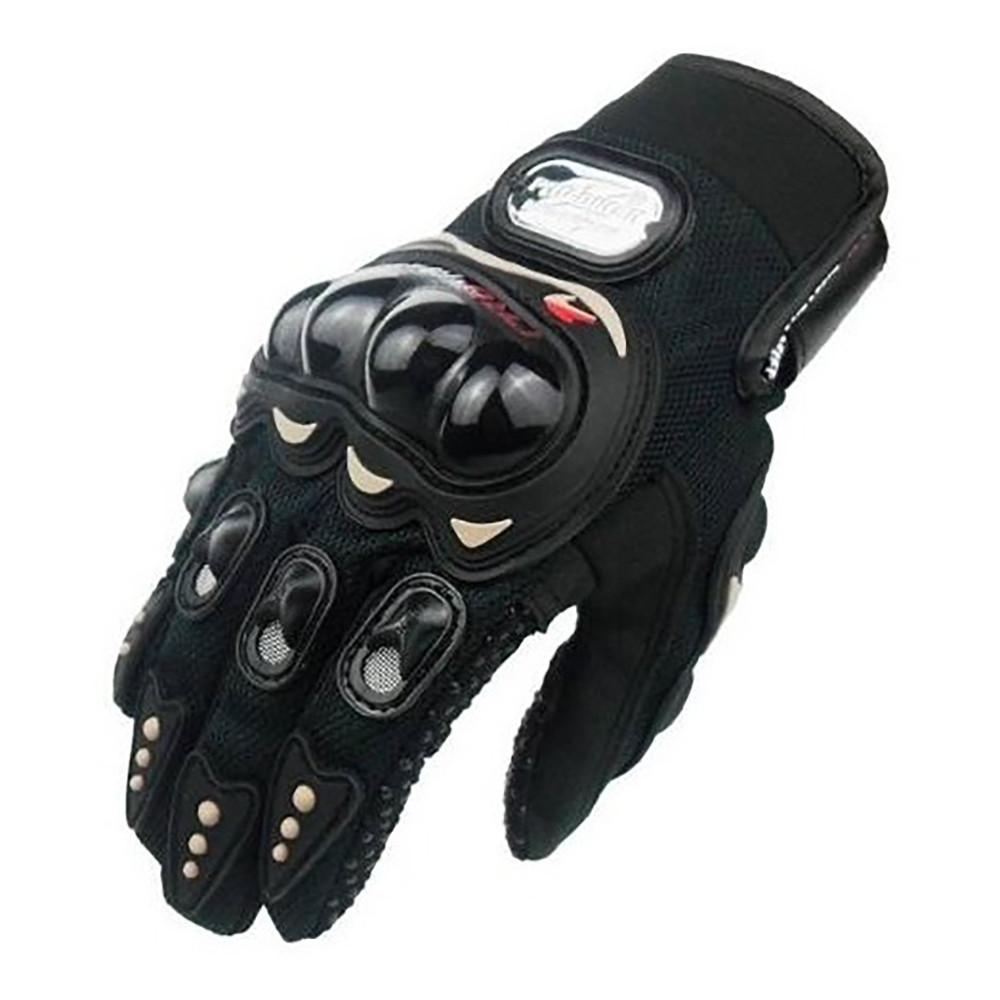 Guantes Cortos para Moto Pro Biker con Protecciones