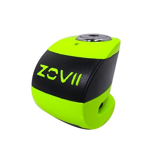 Traba Disco Zovii Con Alarma Verde Perno 6mm