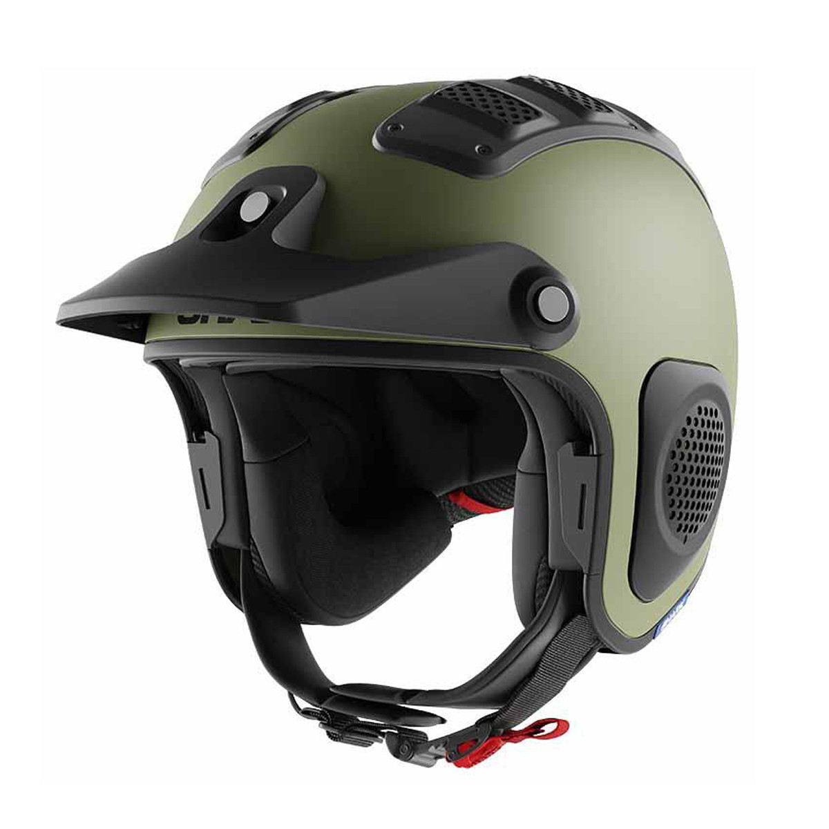 Casco Abierto Shark Drak Atv Verde Mate