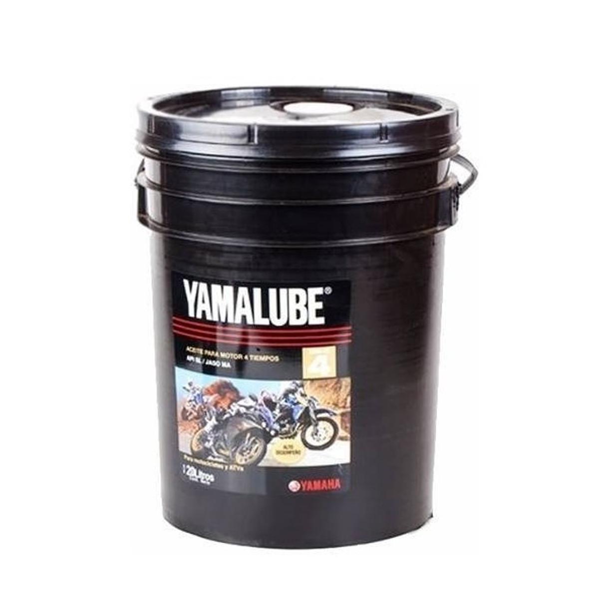 Balde Aceite Yamalube 4T 20W40 X 20 Litros