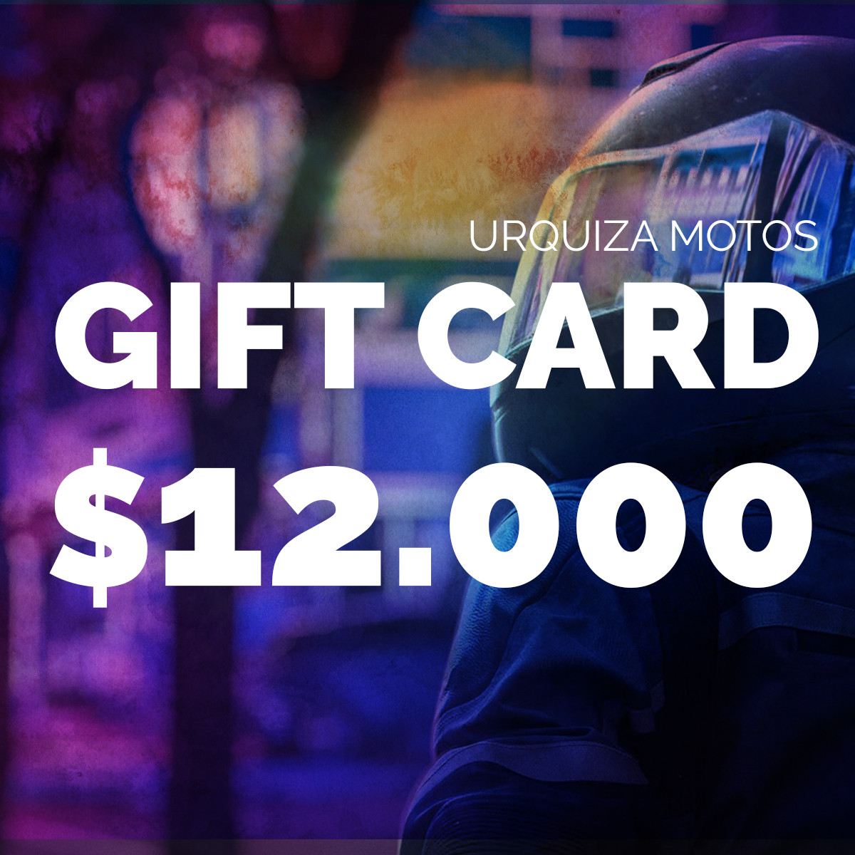 Gift Card $12.000