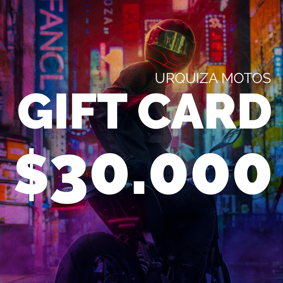 Gift Card $30.000