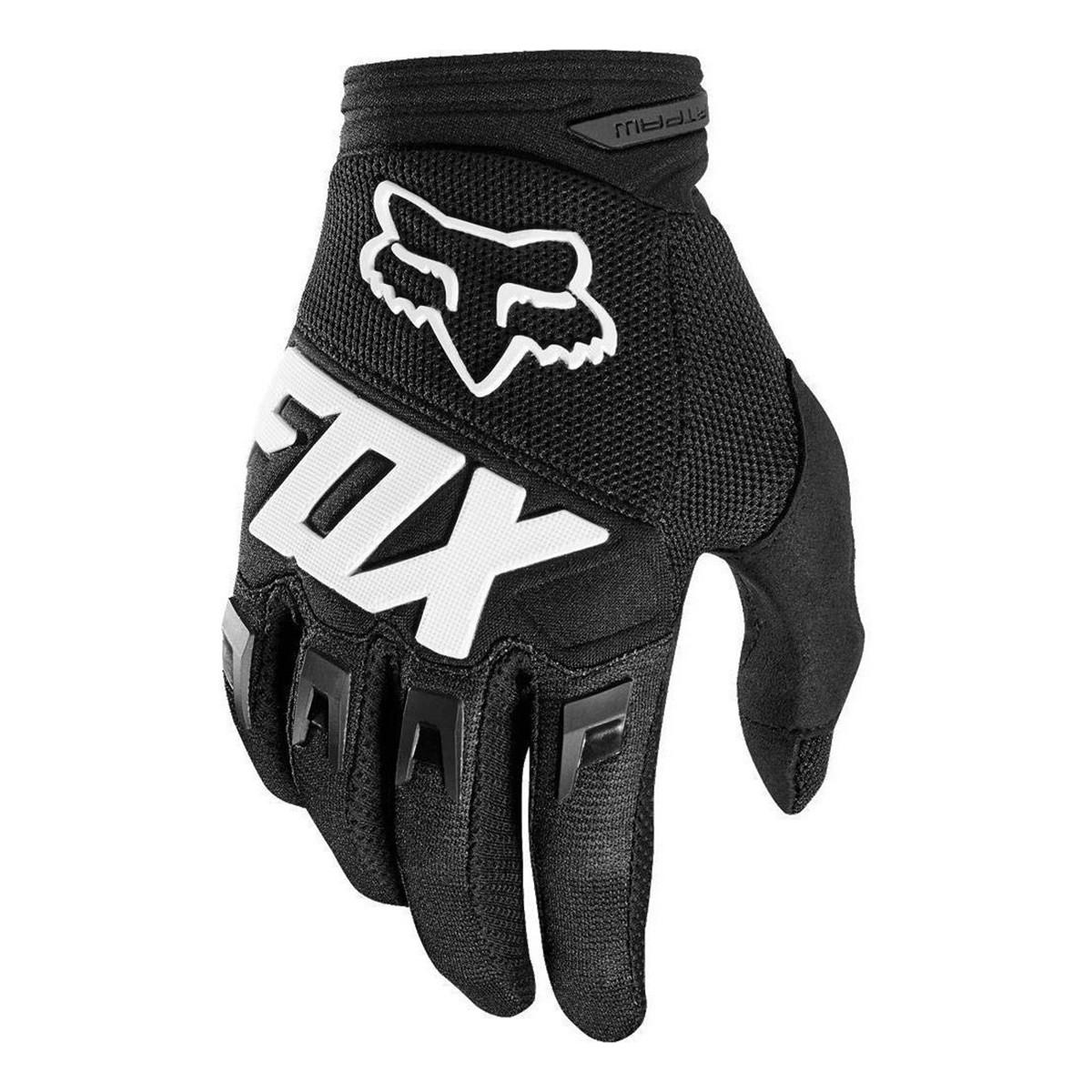 Guantes de Motocross Fox Dirtpaw Antideslizante Negro