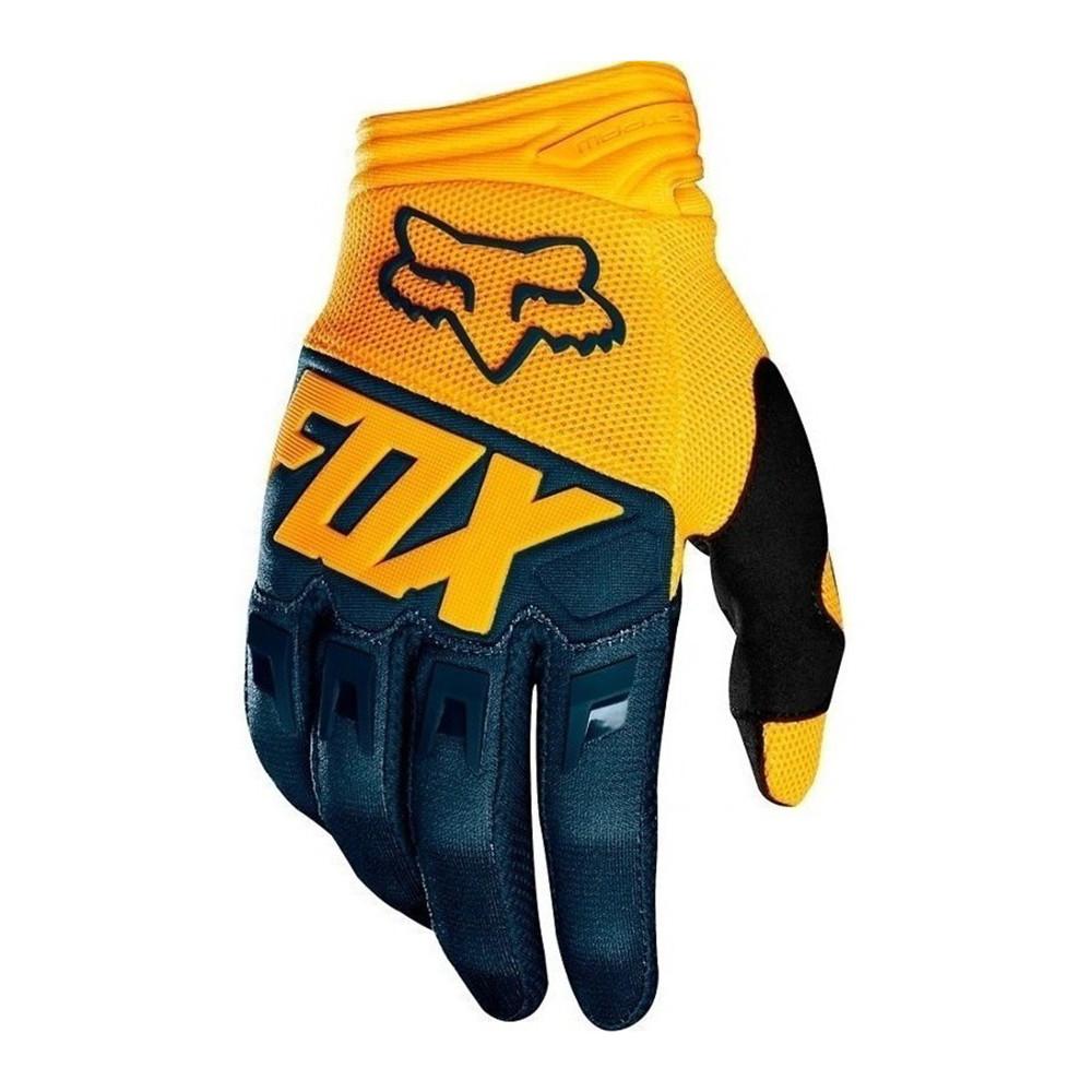 Guantes de Motocross Fox Dirtpaw Antideslizante Amarillo