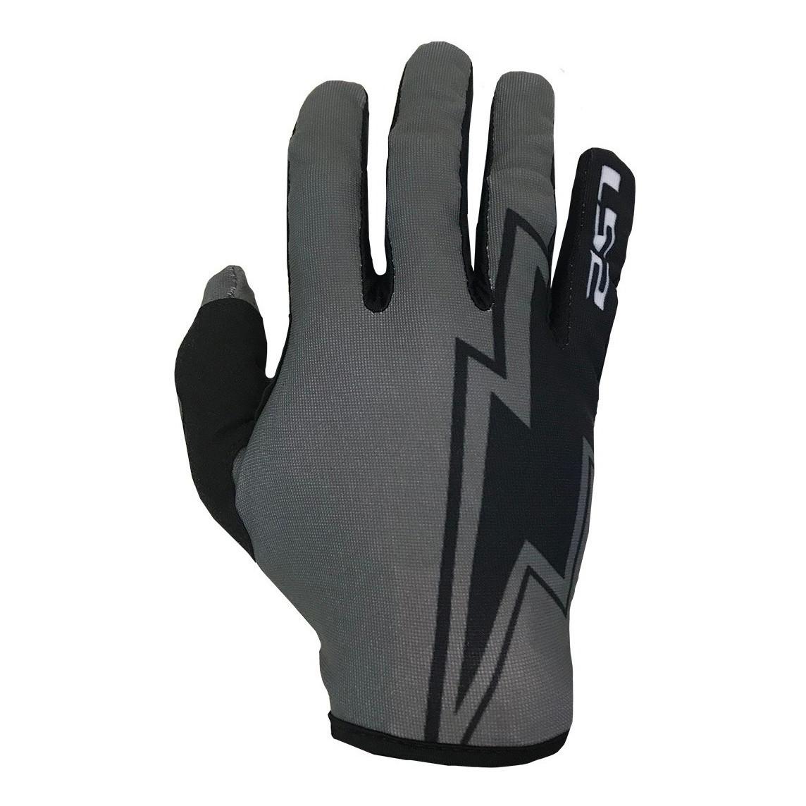 Guantes de Motocross Ls2 Ranger Flash MX Negro Gris