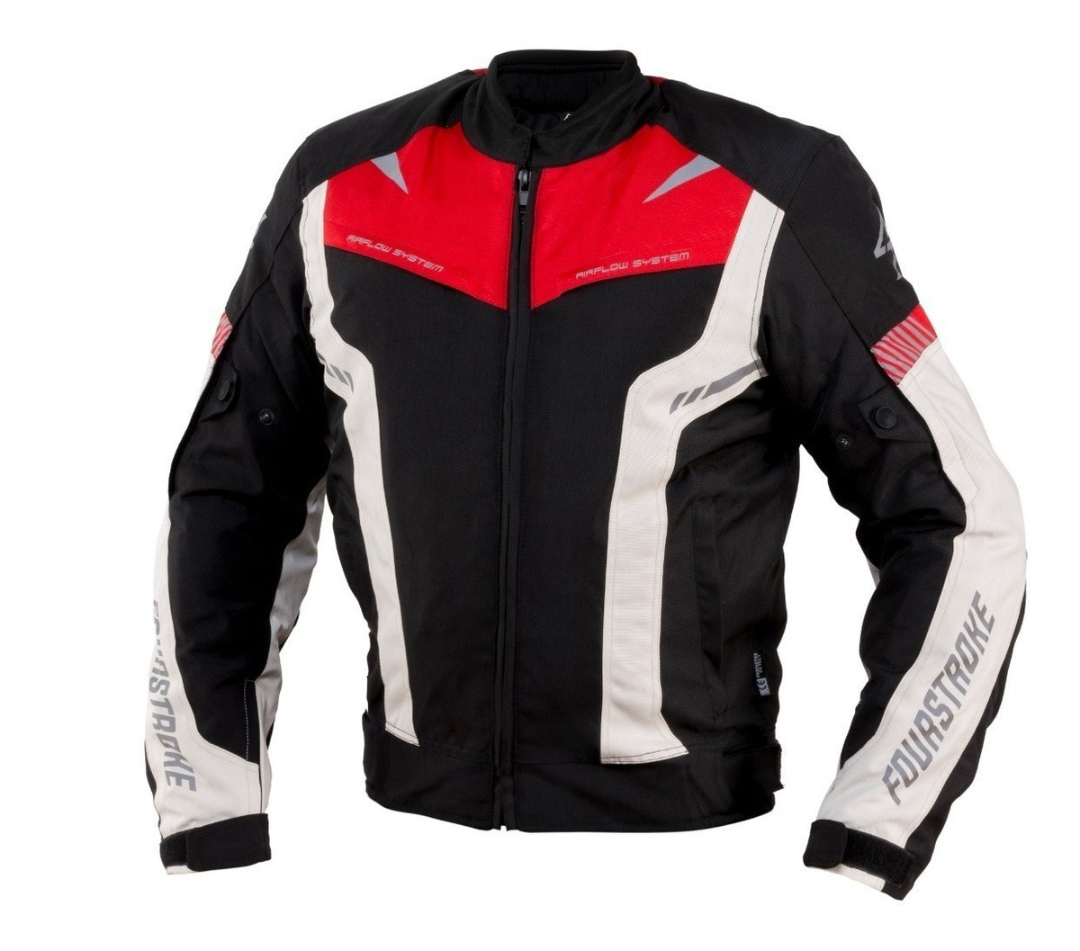 Campera Fourstroke Warrior Rojo
