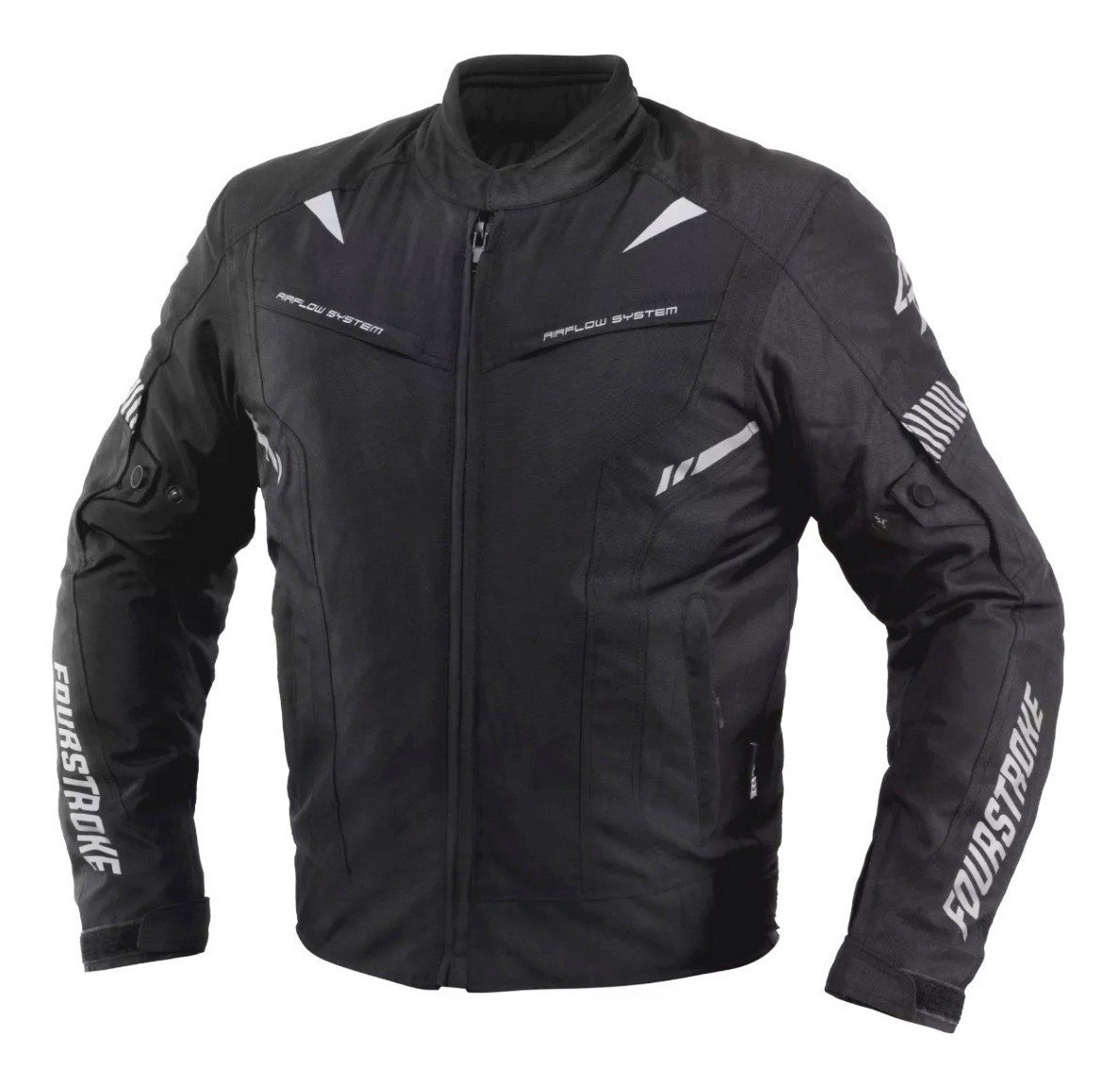 Campera Fourstroke Warrior Negro