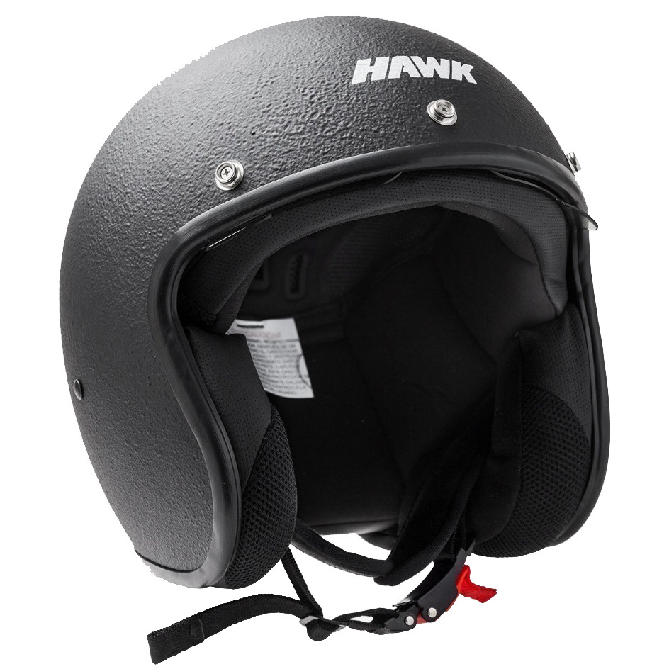 Casco Abierto Hawk 721 Thick Negro