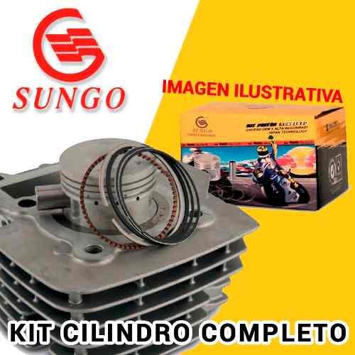Kit Cilindro Completo Yamaha Fz 16 Sungo    Um