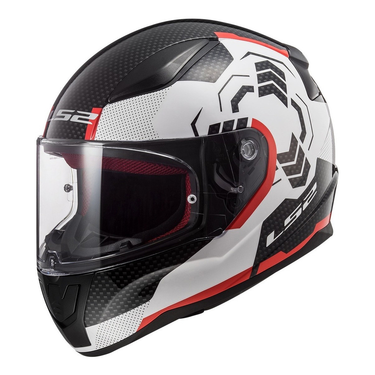 Casco Integral LS2 FF 353 Rapid Ghost