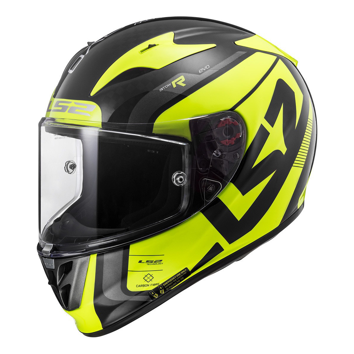 Casco Integral LS2 FF 323 Arrow C Sting Carbono