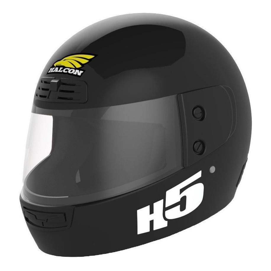 Casco Integral Halcon H5 Negro