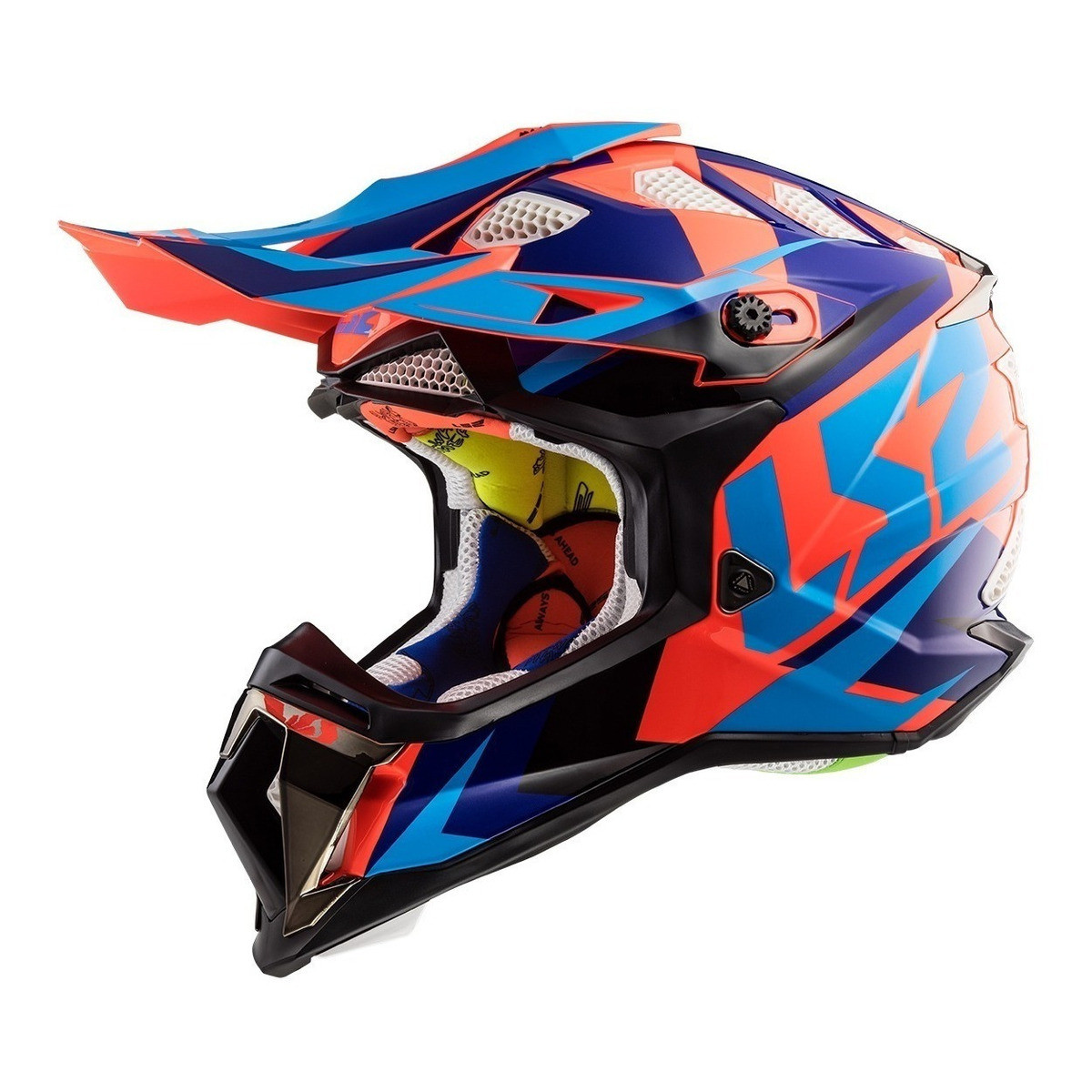 Casco Cross LS2 MX 470 Subverter Nimble Naranja