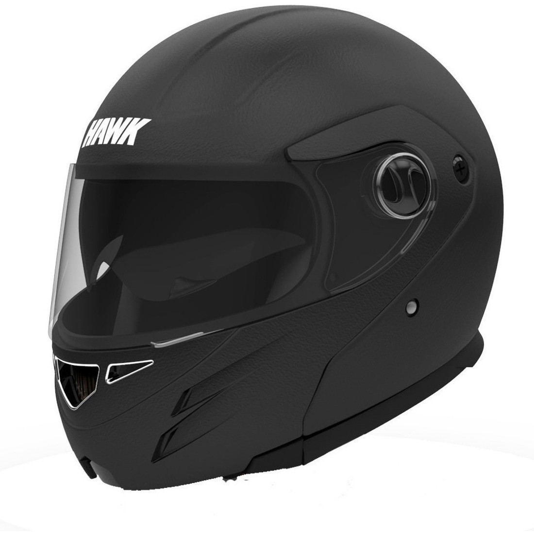 Casco Rebatible Hawk RS5 Thick Negro