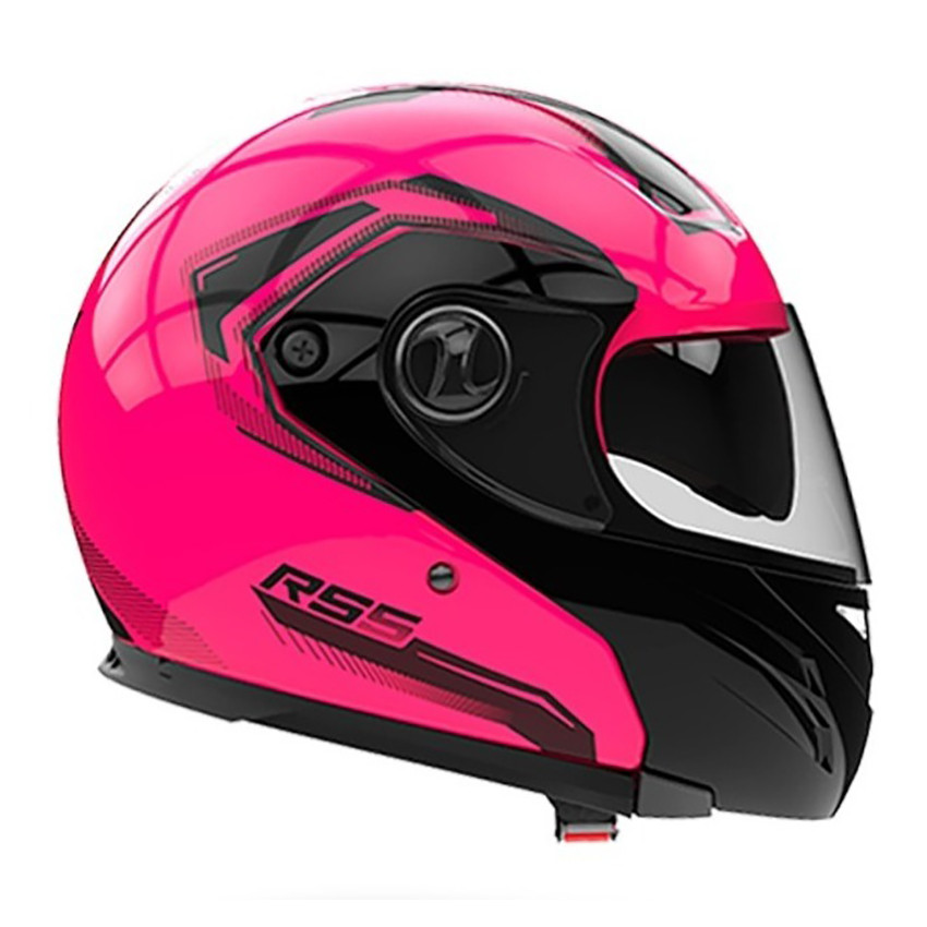 Casco Rebatible Hawk RS5 Rosa