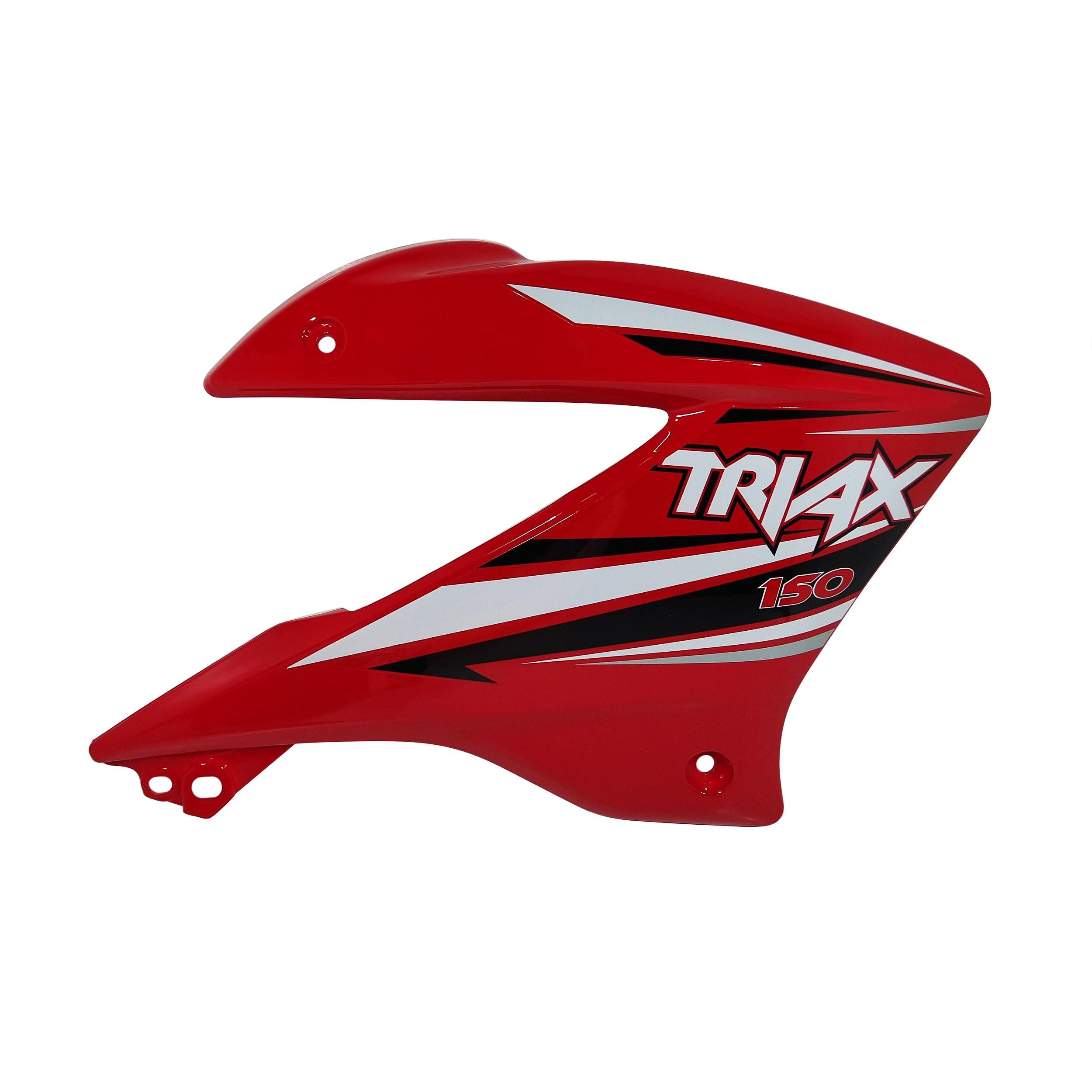 Deflector Tanque Derecho Rojo Corven Triax 150 Modelo Nuevo