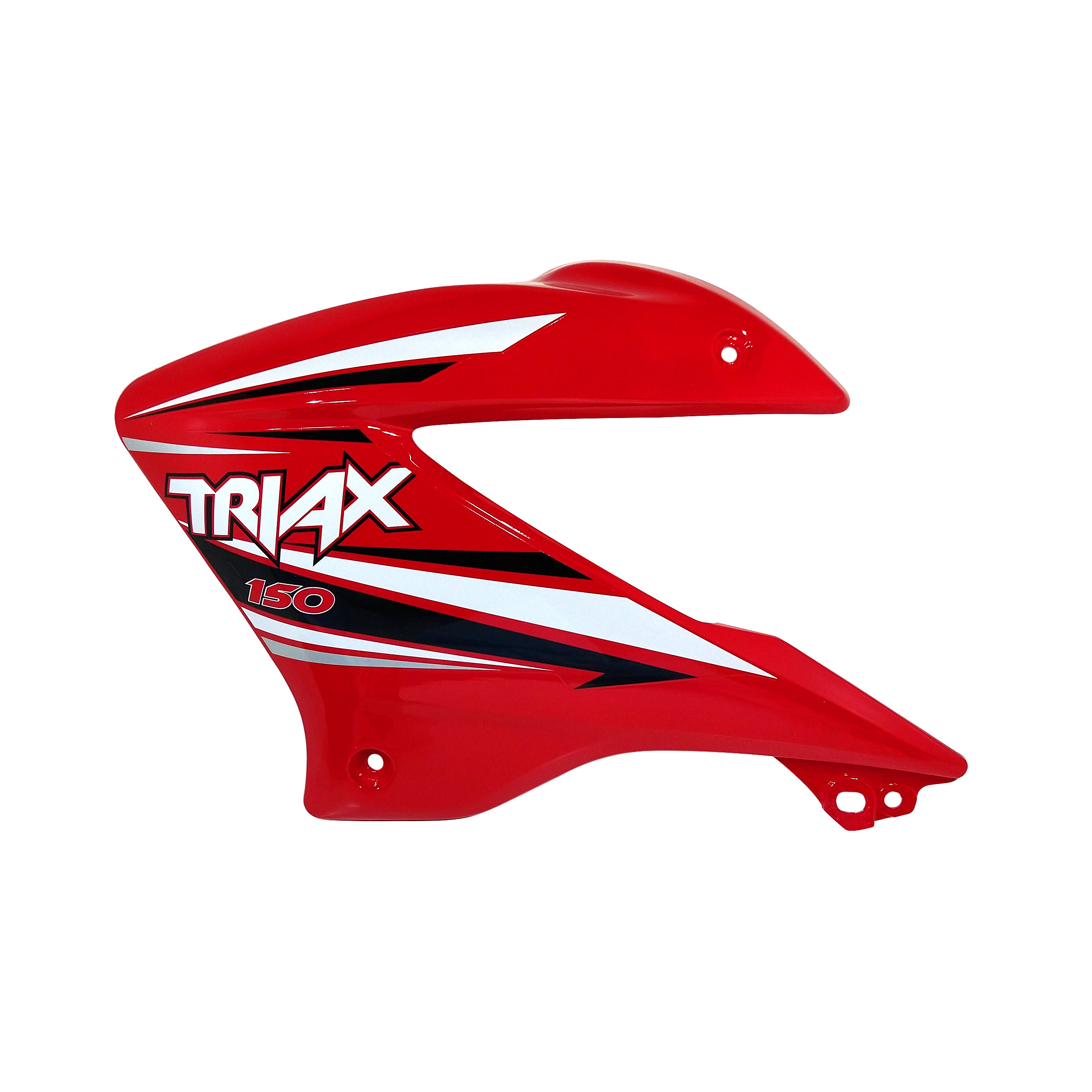 Deflector Tanque Izquierdo Rojo Corven Triax 150 Modelo Nuevo