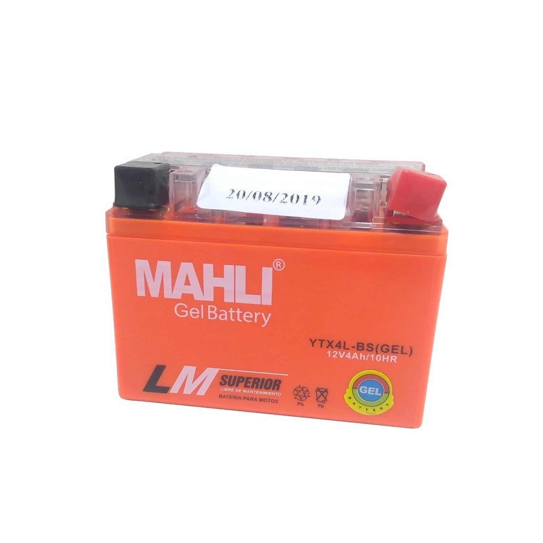 Bateria Mahli Ytx4l-bs Gel