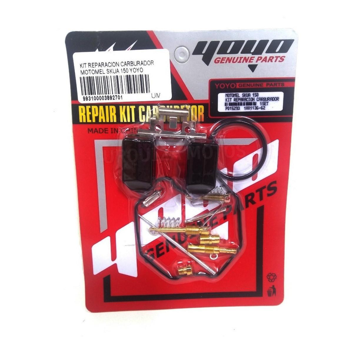 Kit Reparacion Carburador Motomel Skua 150 Yoyo