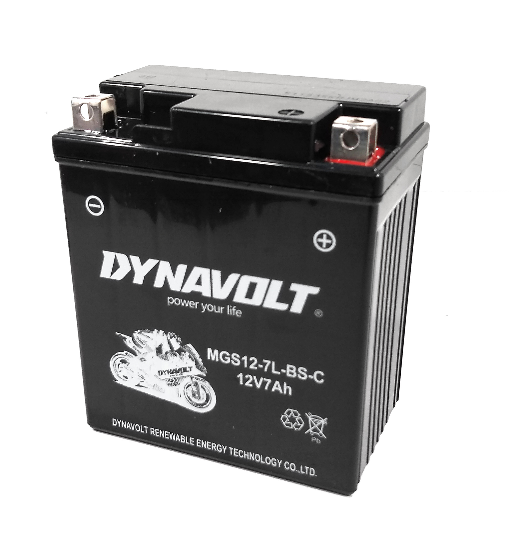 Bateria Dynavolt Gel 127l-bs Ytx7l-bs