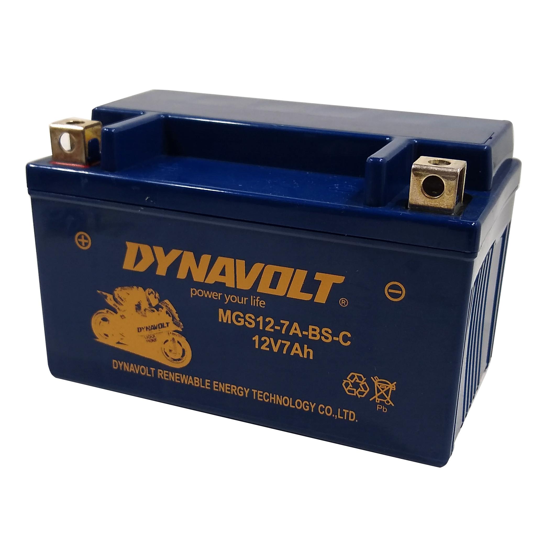 Bateria Moto Dynavolt Gel 127a-bs Ytx7a-bs