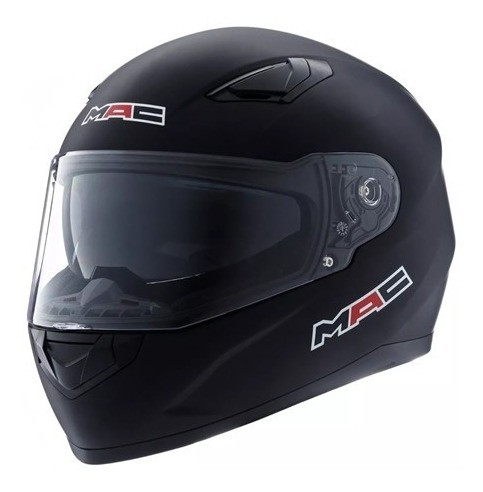 Casco Integral Doble Visor Mac Gravity Negro Mate