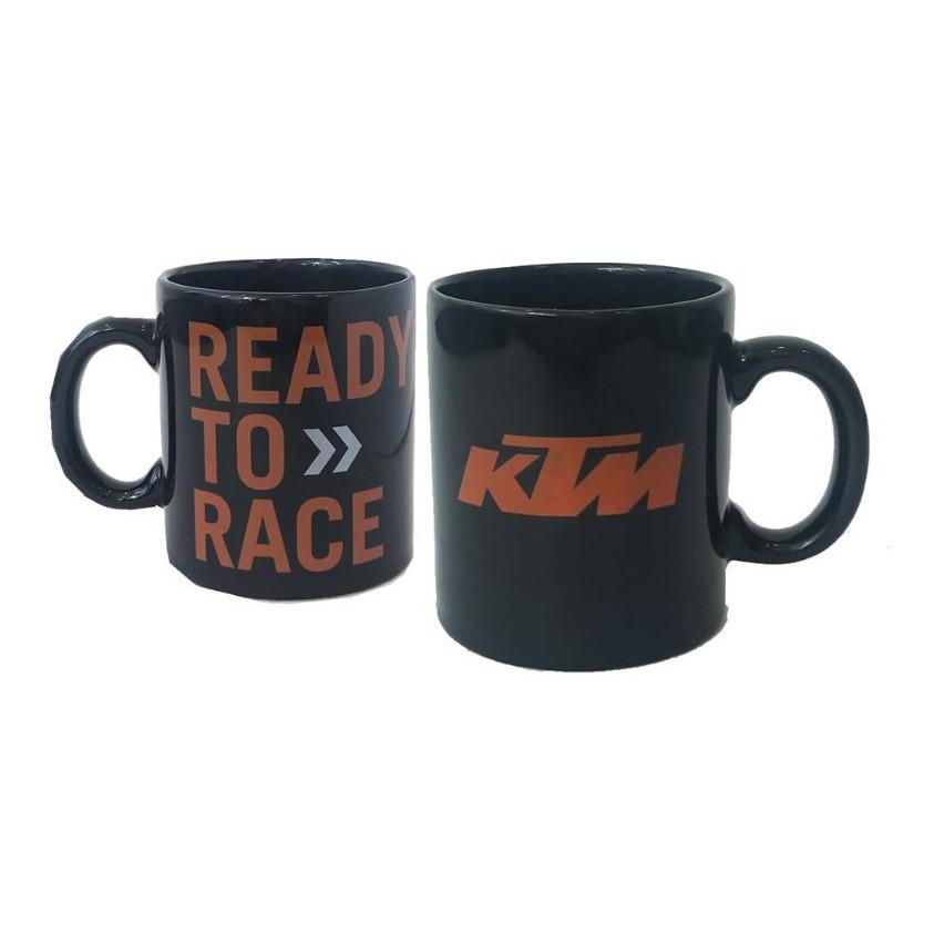Taza Negra Loza Ktm R2R Ready To Race Original
