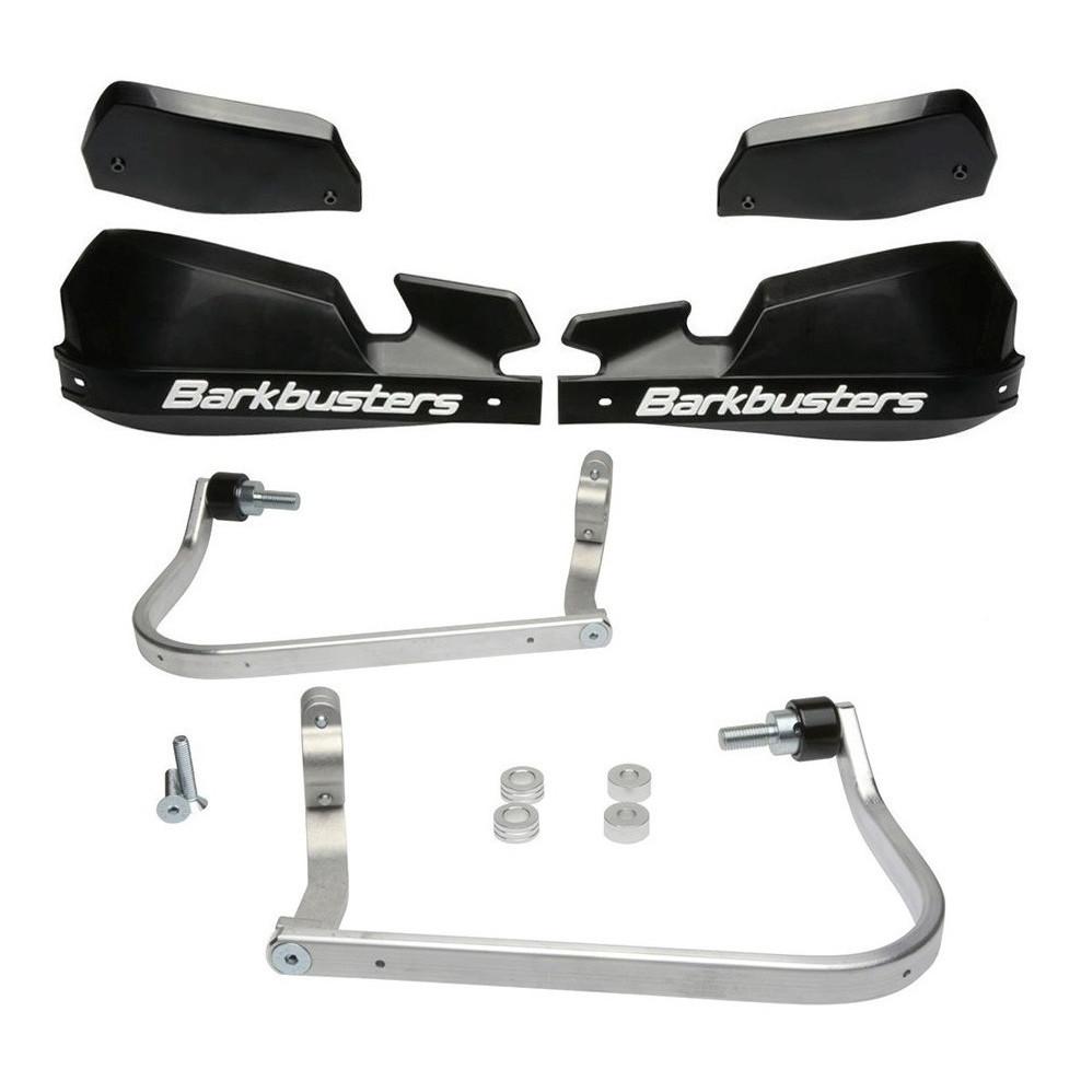 Cubre Manos Puños Barkbusters Aluminio Negro Bmw F 650 Gs Twin