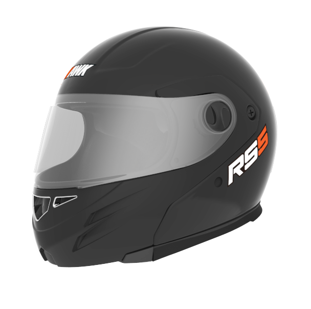 Casco Rebatible Hawk Rs5 Flip Up Negro Mate