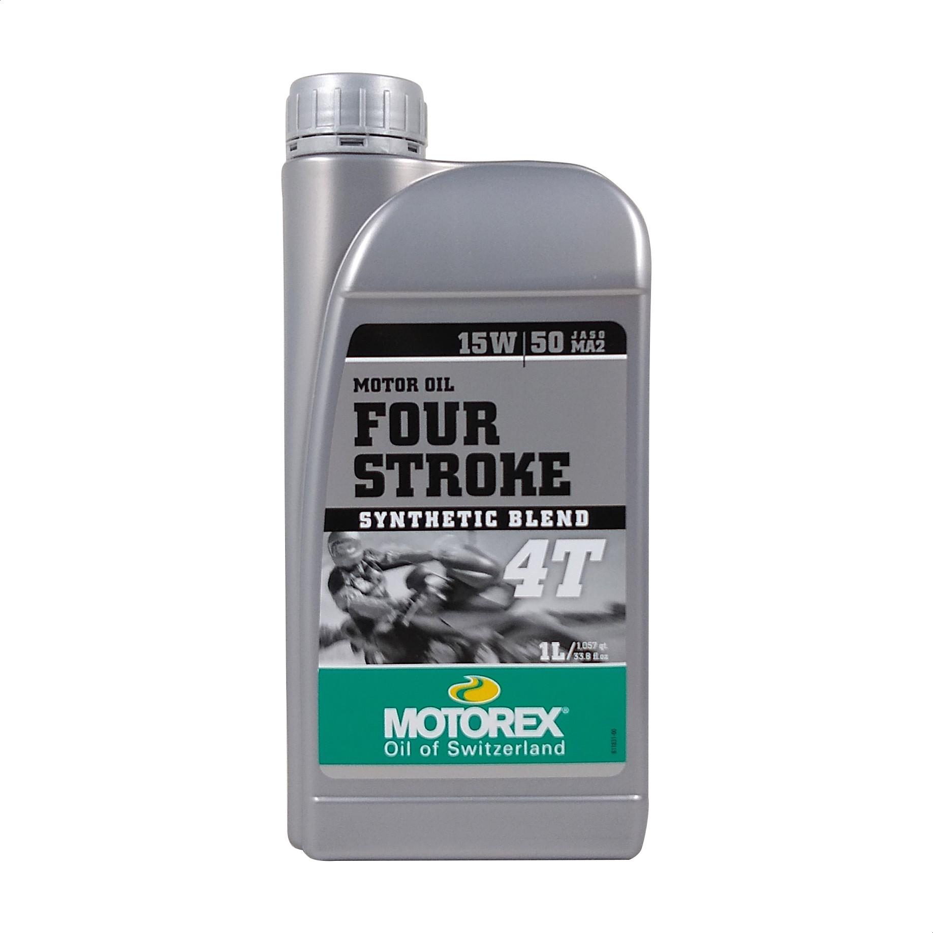 Aceite Motorex 15w 50 Semi Sintetico 4t Four Stroke