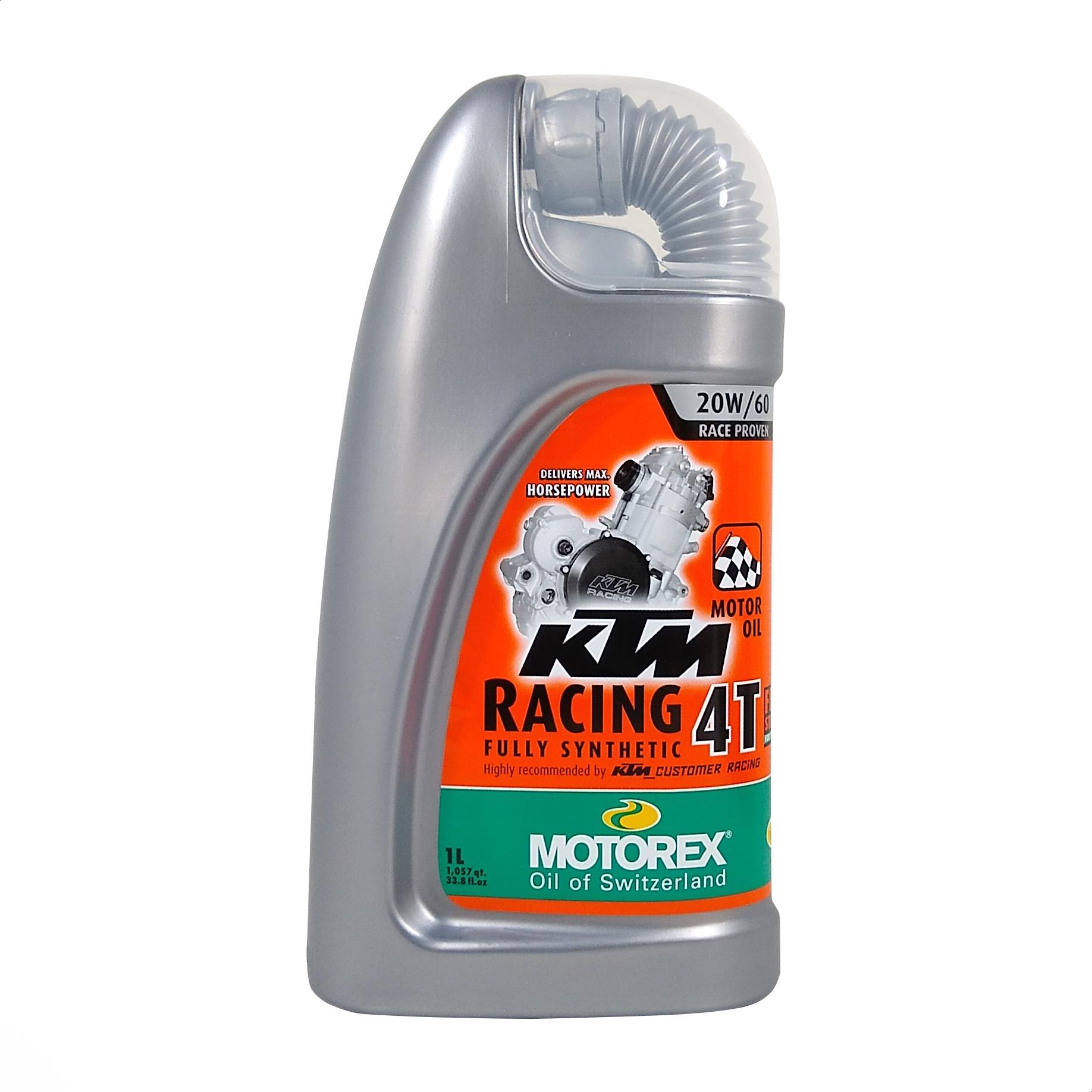 Aceite Motorex 20w 60 Full Sintetico 100% Ktm Racing 4t