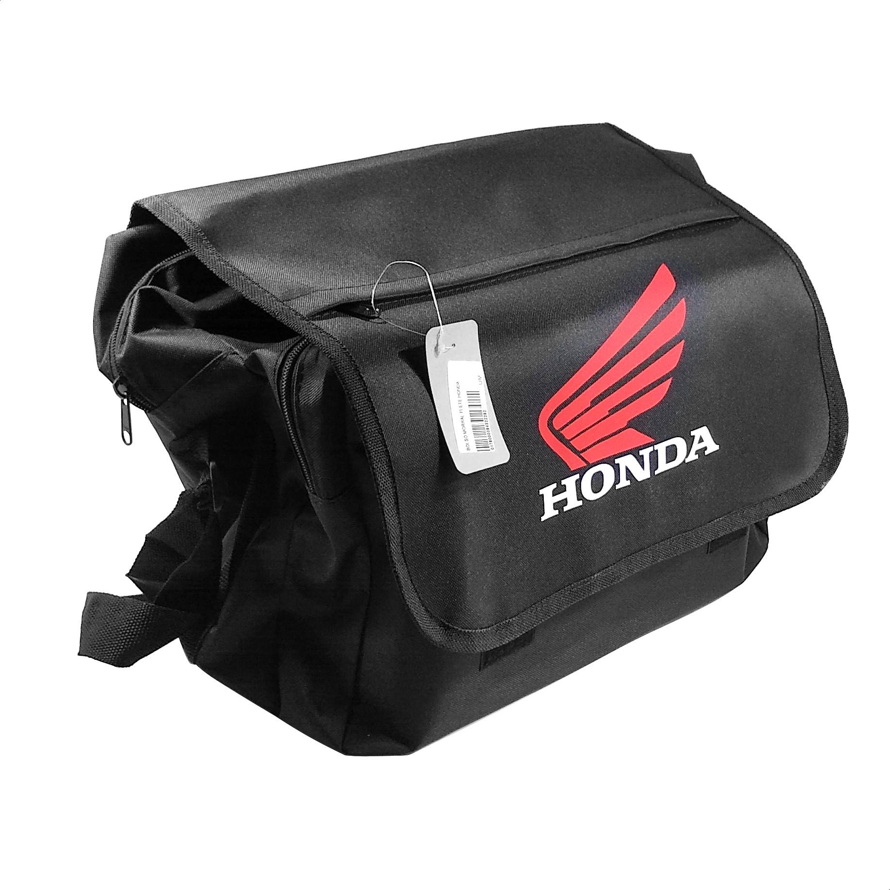 Bolso Morral Negro Logo Honda