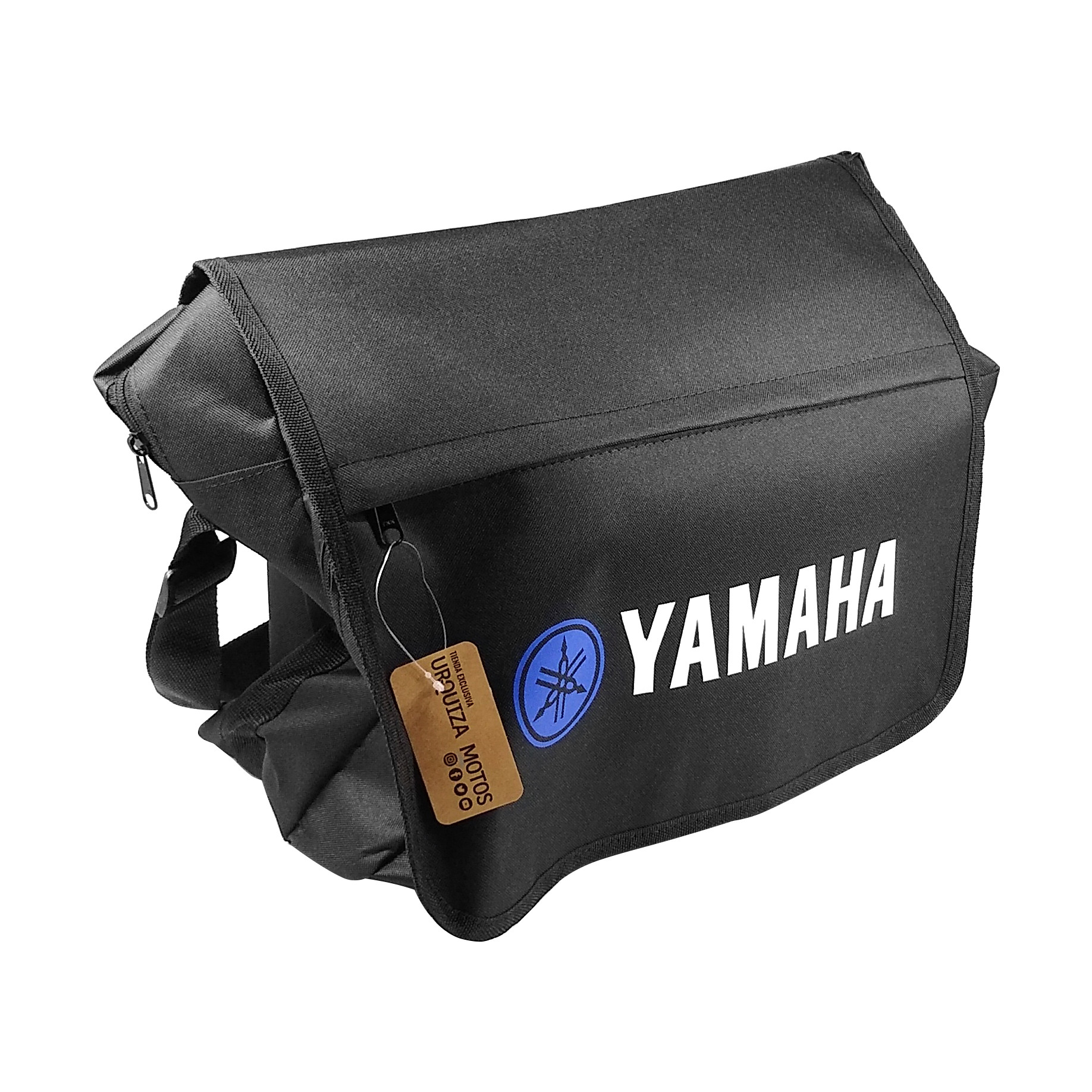 Bolso Morral Negro Logo Yamaha