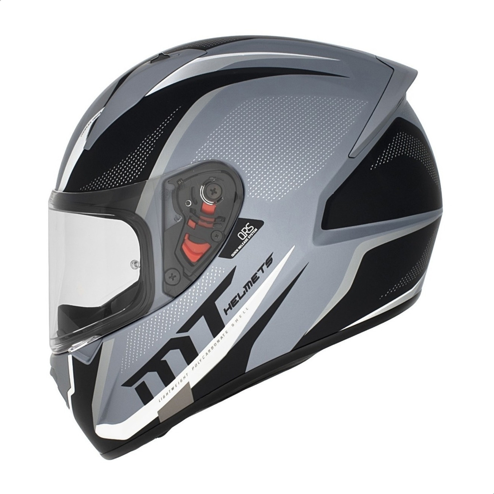 Casco Integral Mt Stinger Spike Gunmental Gris Mate