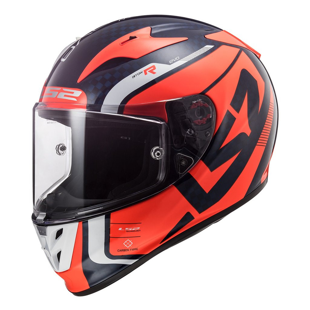 Casco Integral Ls2 Ff323 Arrow C Sting Naranja
