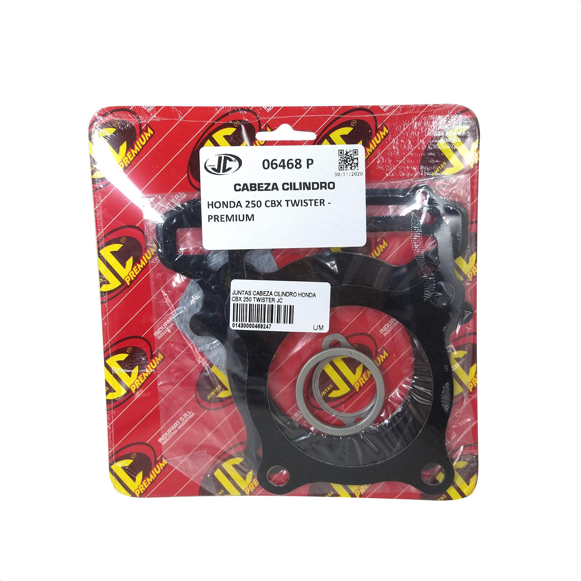 Juego de Juntas Cabeza Cilindro Jc Premium Honda Twister