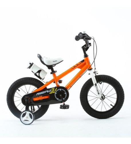 Bicicleta Infantil Royal Baby Freestyle Rodado 14