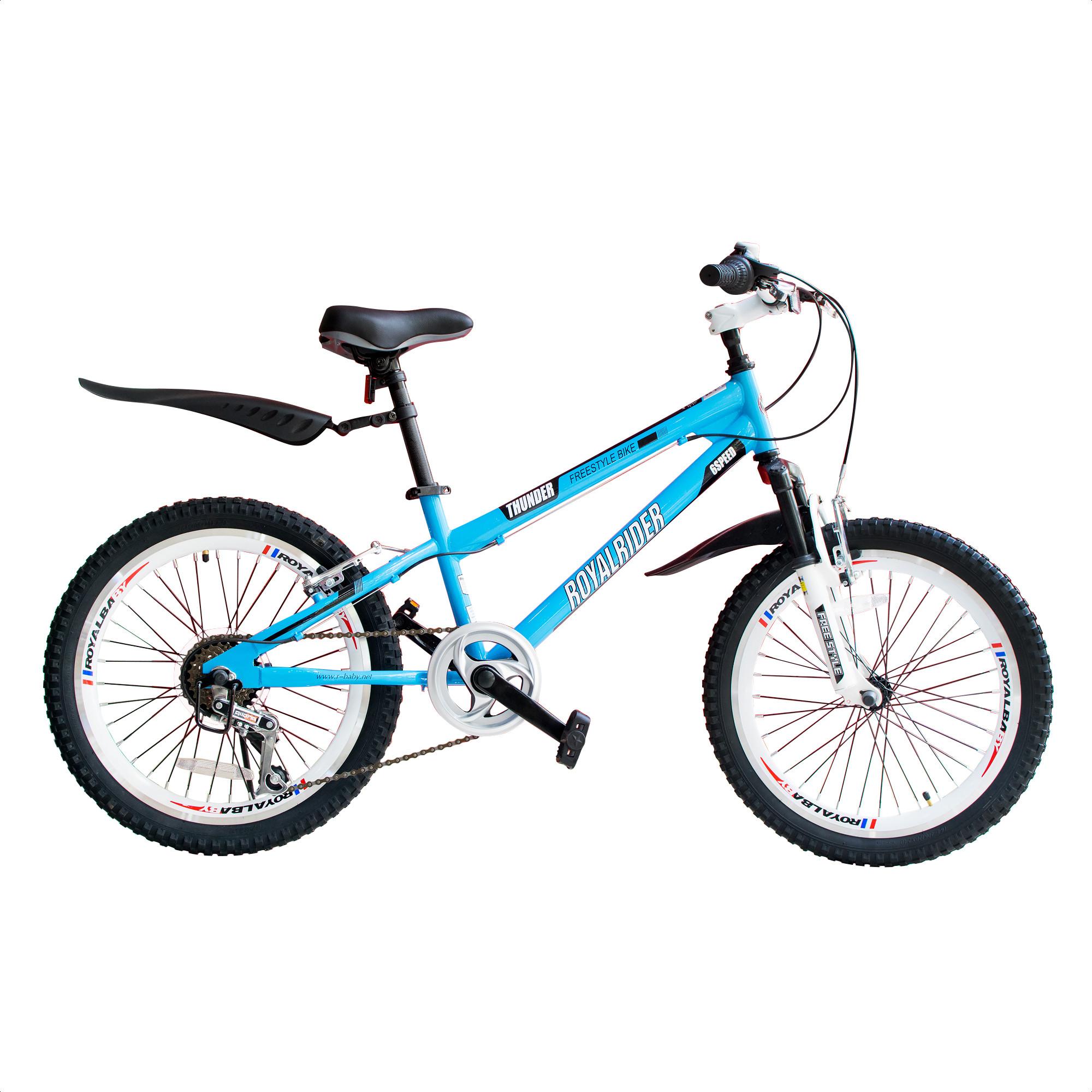 Bicicleta Infantil Royal Baby Freestyle Con Cambios Rodado 20