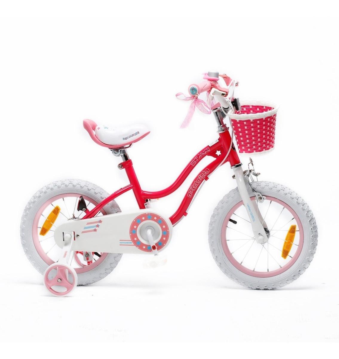 Bicicleta Infantil Royal Baby Star Girl Rodado 12