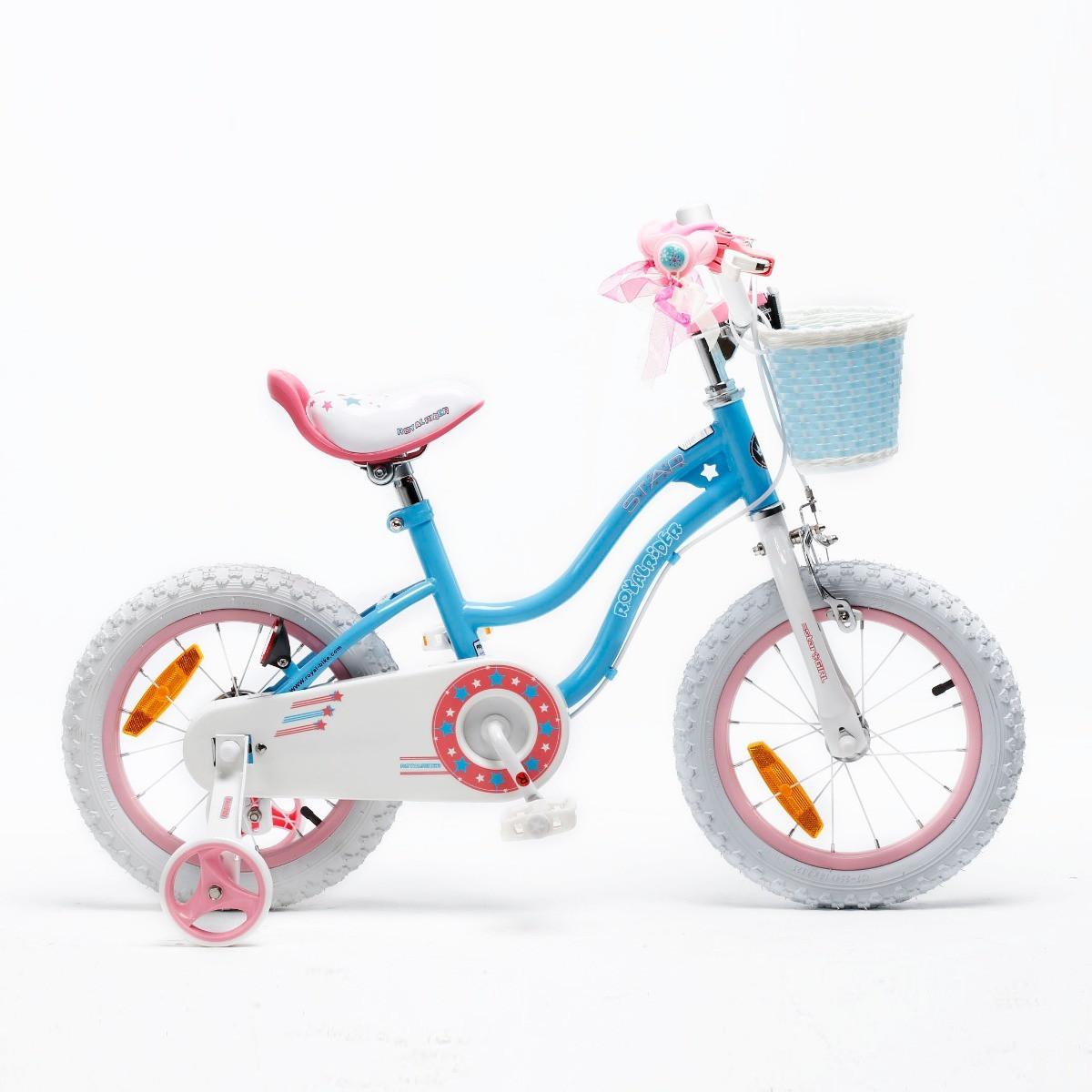 Bicicleta Infantil Royal Baby Star Girl Rodado 14