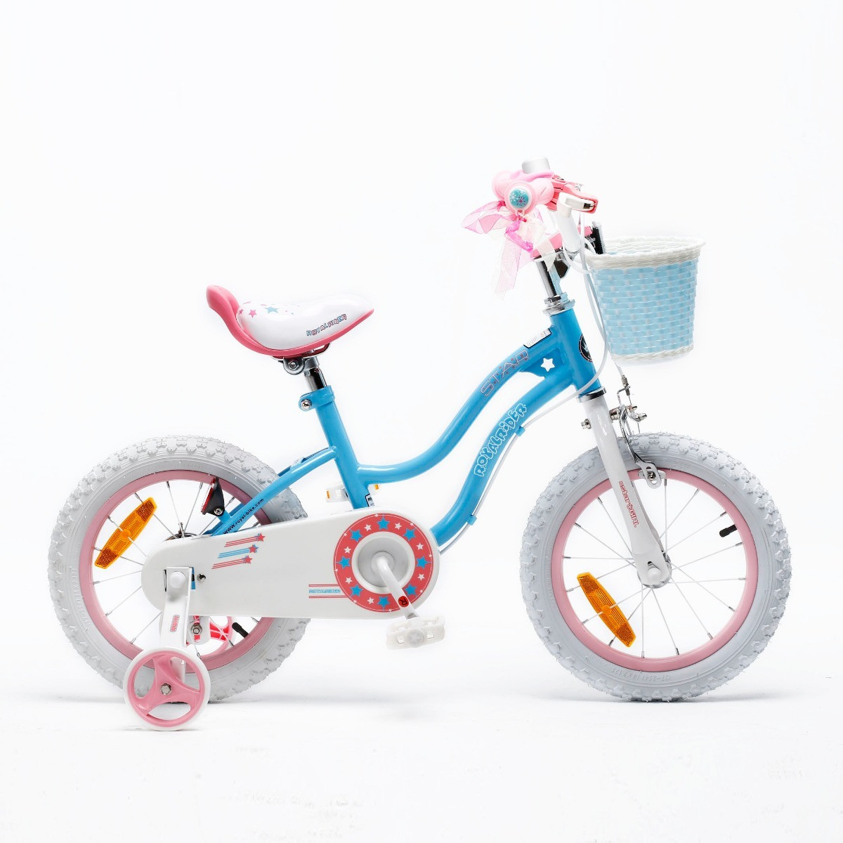 Bicicleta Infantil Royal Baby Star Girl Rodado 16