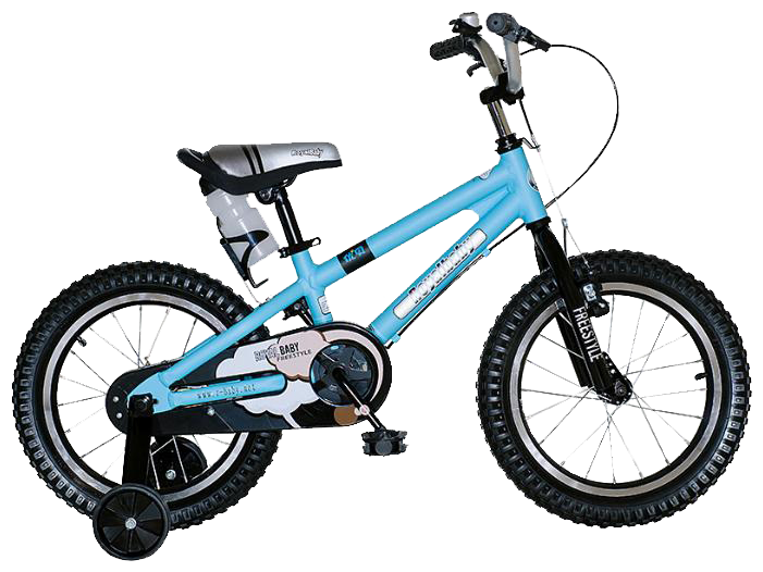 Bicicleta Infantil Royal Baby Freestyle Alloy Rodado 16