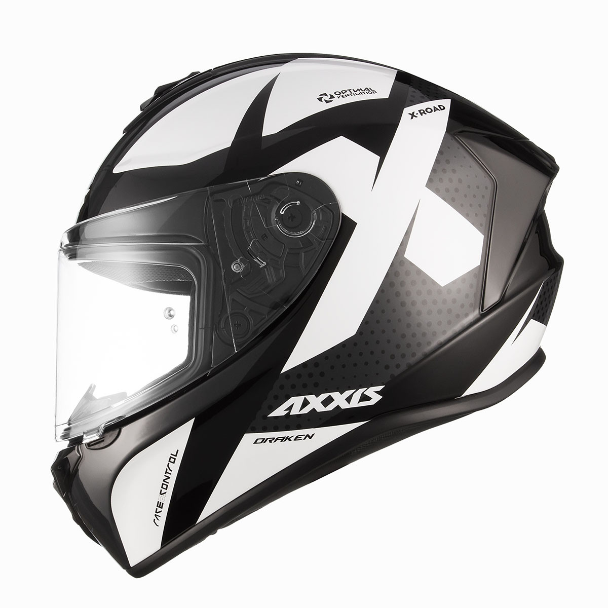 Casco Integral Axxis Draken X-road B6 Negro