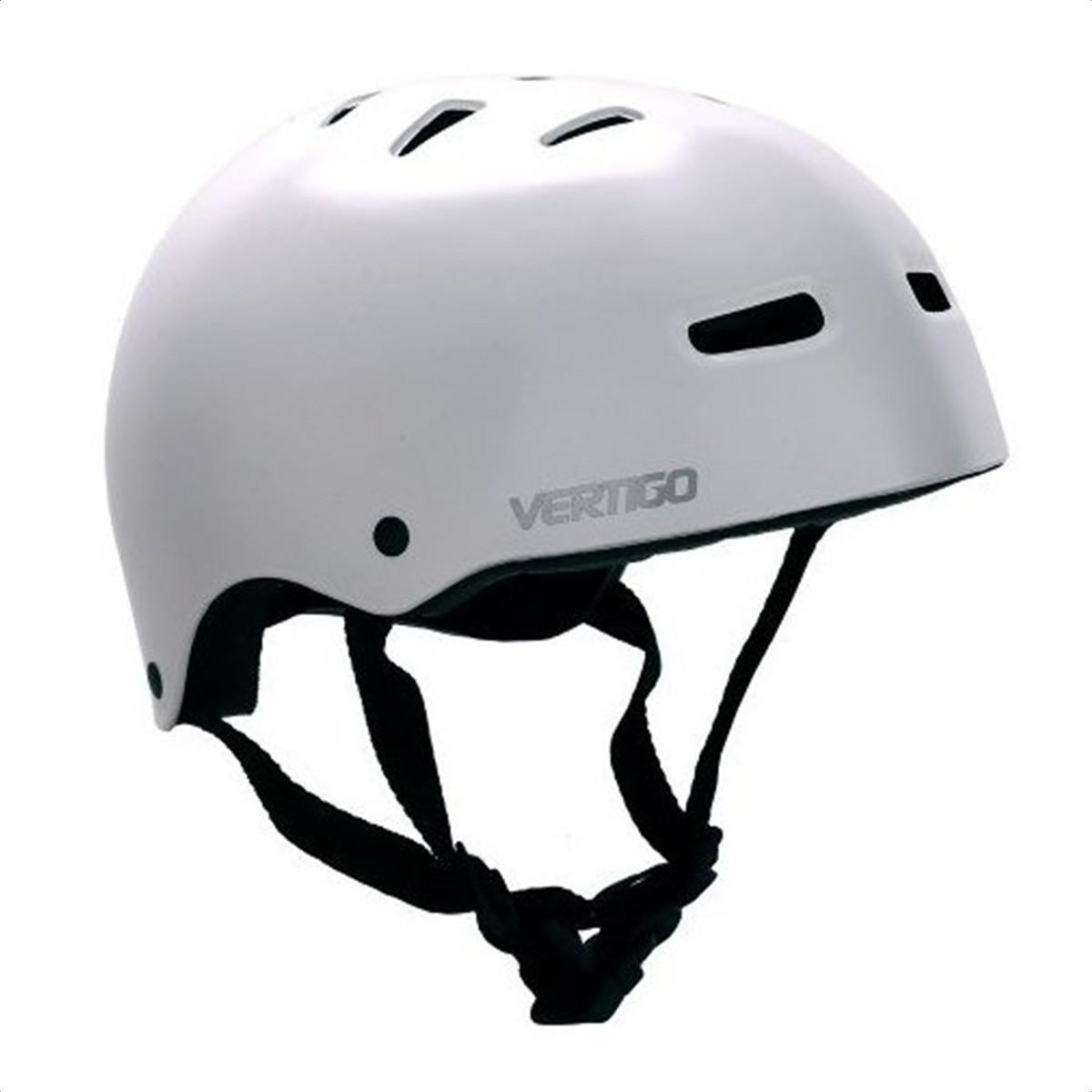 Casco Proteccion Bicicleta Vertigo Blanco