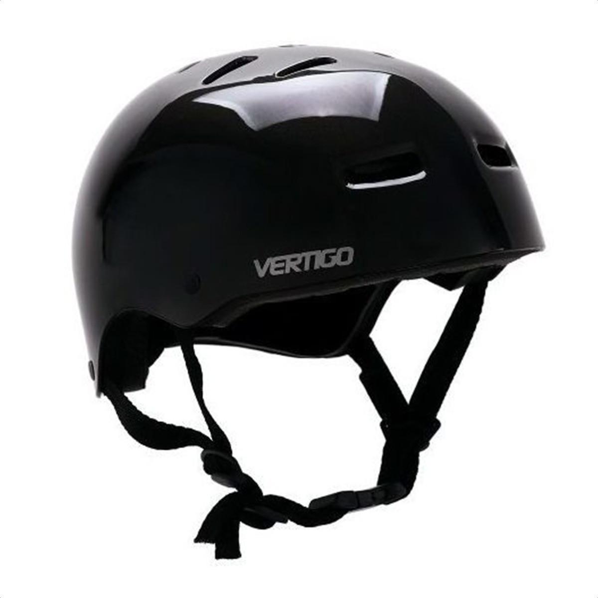 Casco Proteccion Bicicleta Vertigo Negro
