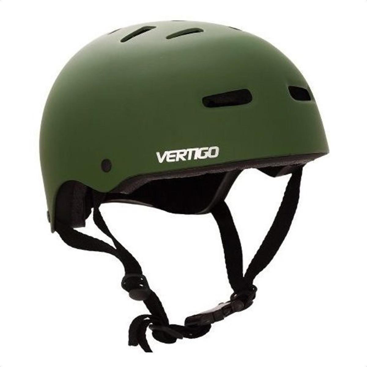 Casco Proteccion Bicicleta Vertigo Verde