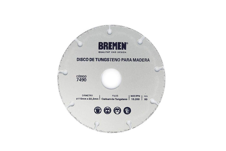 Disco Corte Amoladora 115mm Bremen 7490