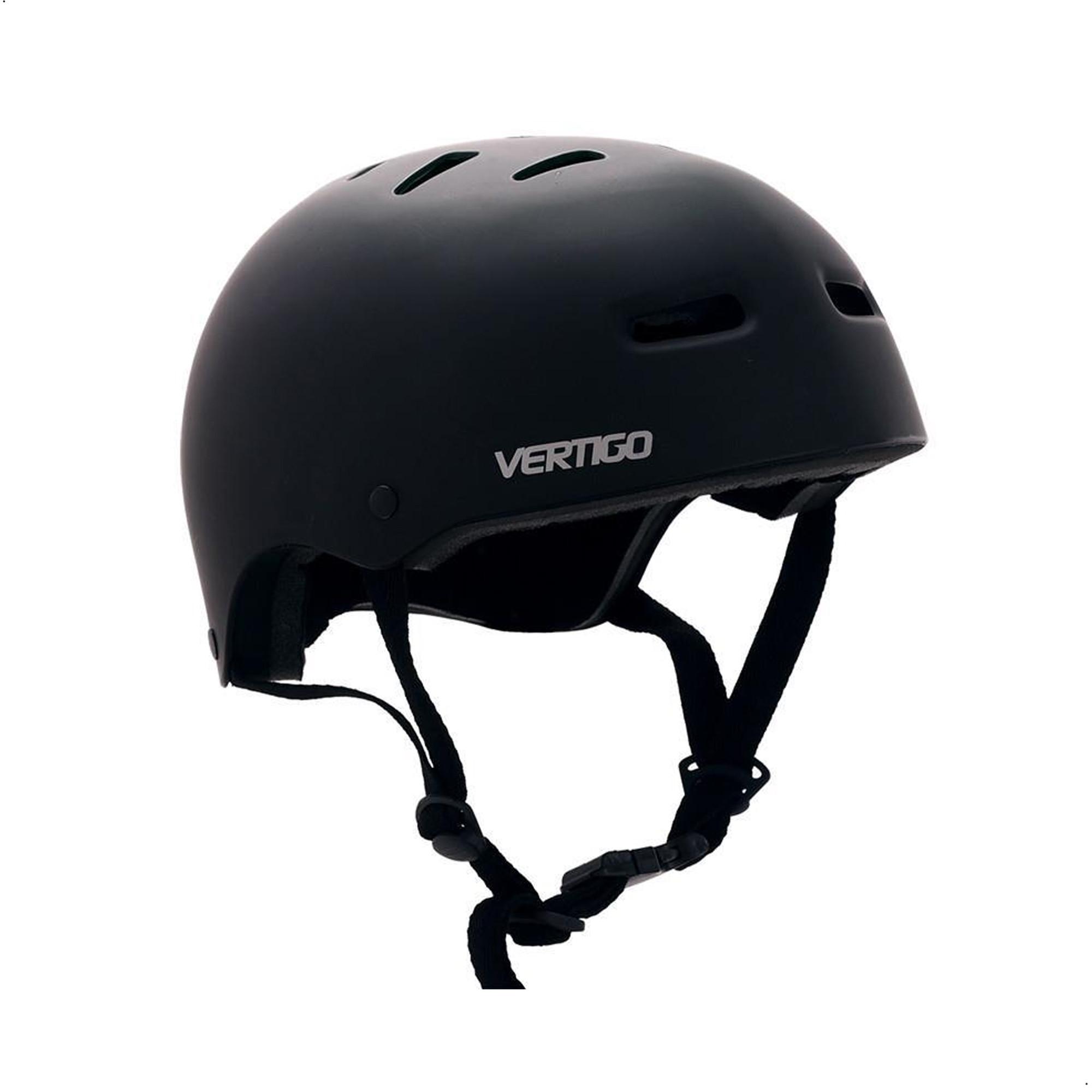 Casco Proteccion Bicicleta Vertigo Negro Mate